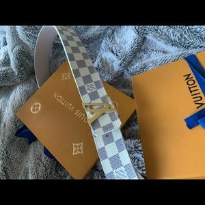 Louis Vuitton Damier Azur Belt